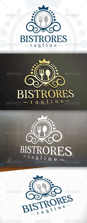 Bistro Logo - Crests Logo Templates
