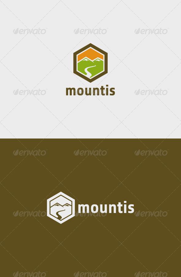 Mountis Logo - Nature Logo Templates