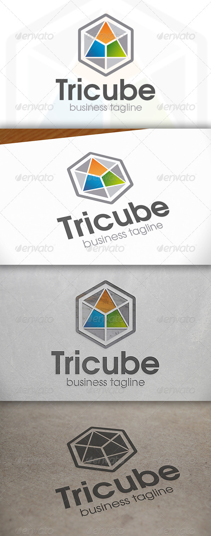 Tricube Logo - Vector Abstract