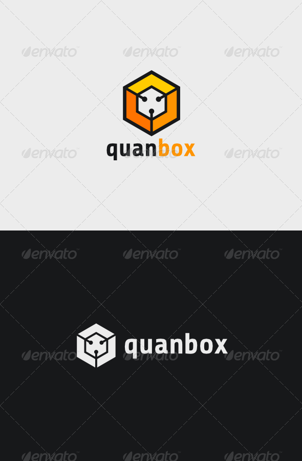 Quan Box Logo - Vector Abstract
