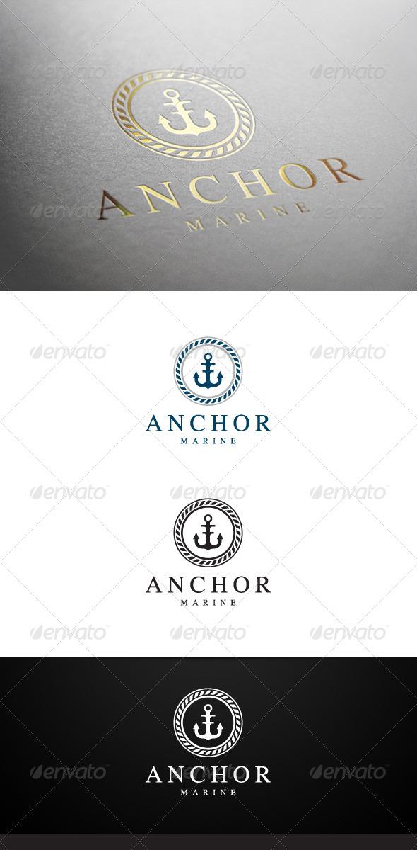 Anchor Marine Logo - Symbols Logo Templates