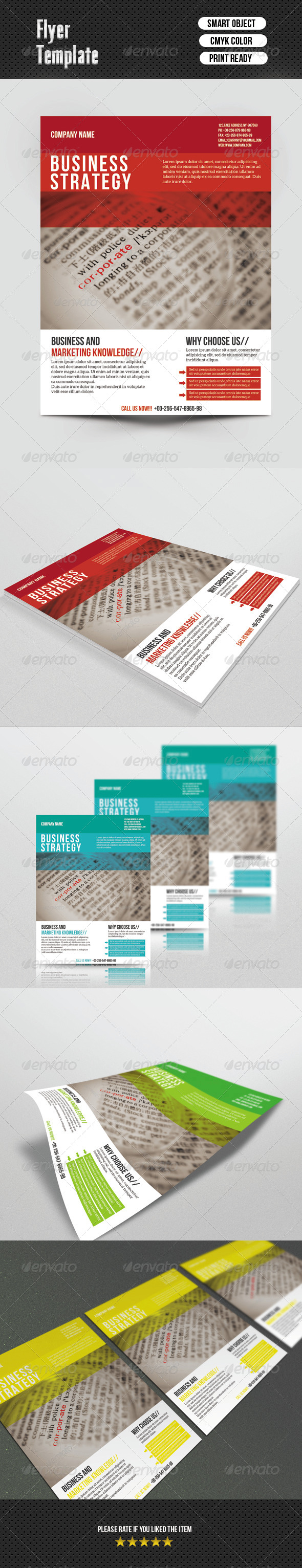 Busines Flayer - Corporate Flyers