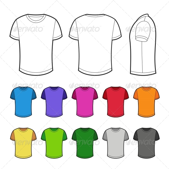 Shirts in Various Colors - Retail Commercial / Shopping