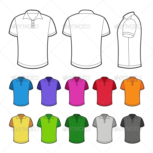 Polo in Various Colors - Retail Commercial / Shopping