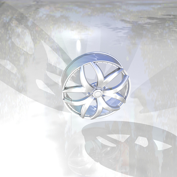 wheel-rim - 3DOcean Item for Sale