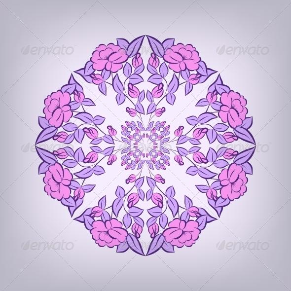 Lace Ornament Background - Patterns Decorative