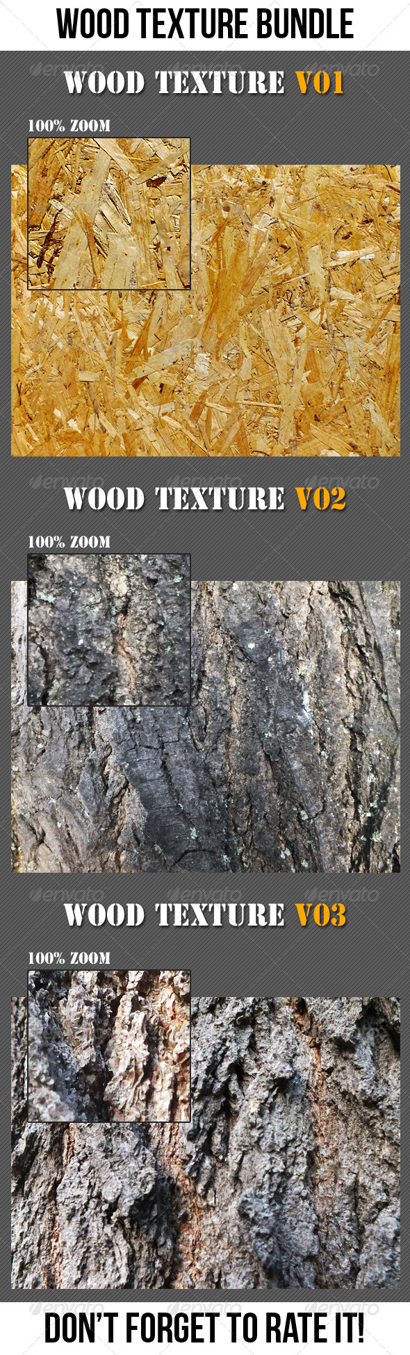 Wood Texture Bundle - Wood Textures