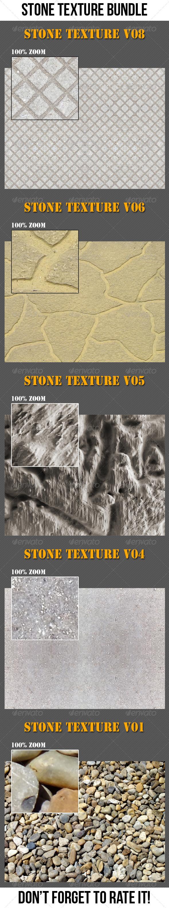 Stone Texture Bundle - Stone Textures