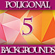 Set of 5 HD Colorful Triangular Backgrounds 2 - GraphicRiver Item for Sale