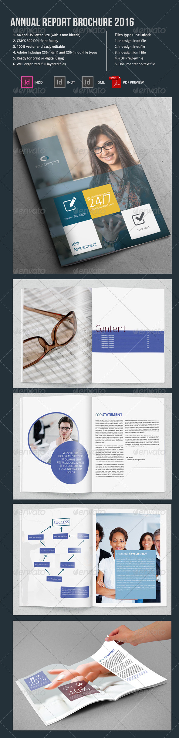 Annual Report Brochure 2016 - Portfolio Brochures