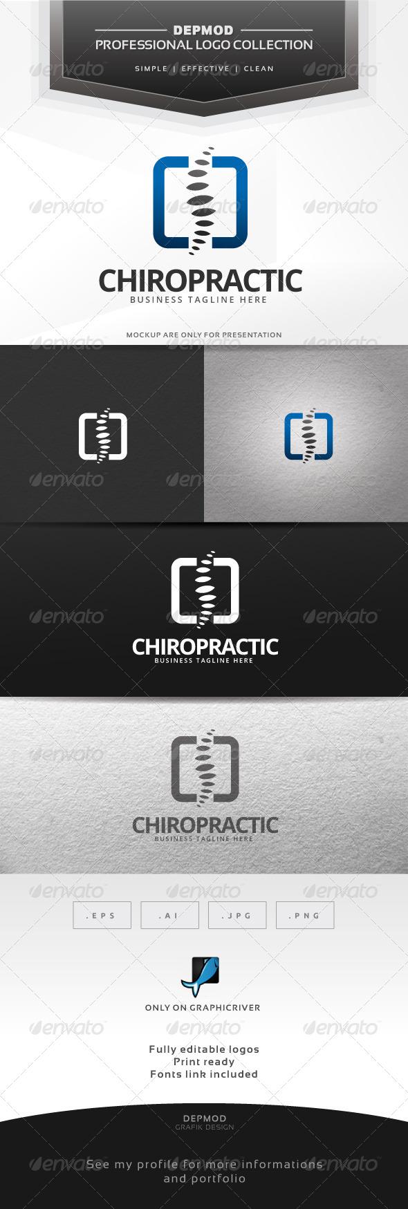 Chiropractic Logo - Humans Logo Templates