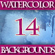 Set of 14 Watercolor Backgrounds - GraphicRiver Item for Sale