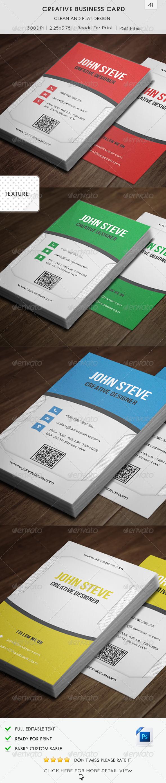 Creative Business Card v41 - Creative Business Cards