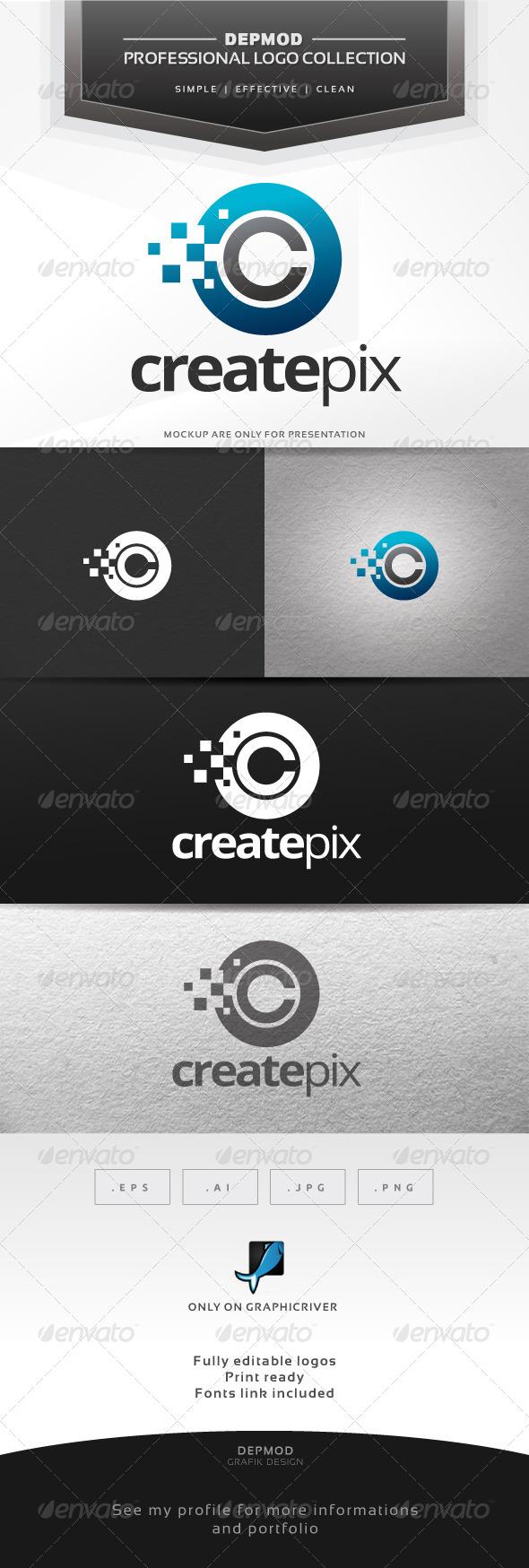 Create Pix Logo - Letters Logo Templates