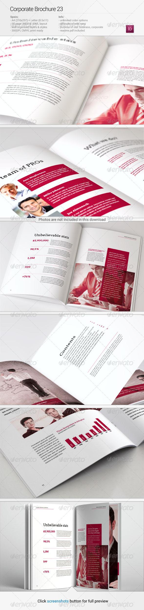 Corporate Brochure 23 - Corporate Brochures