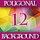 Set of 12 HD Colorful Triangular Backgrounds - GraphicRiver Item for Sale