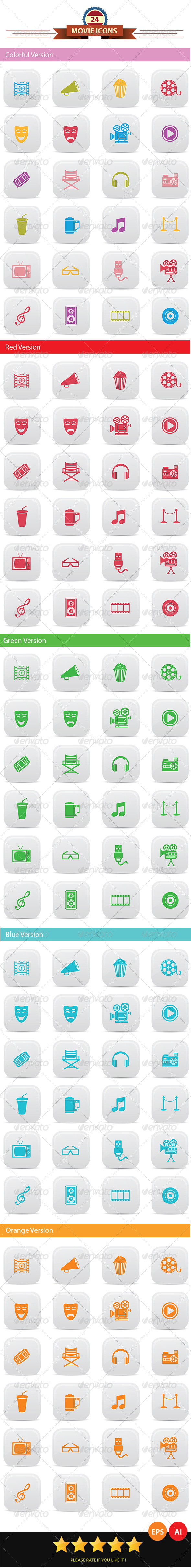 Movie Icons - Miscellaneous Icons