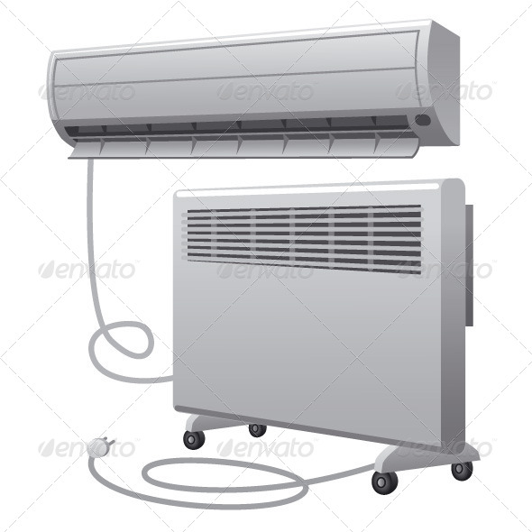 Air Conditioning and Heater - Man-made Objects Objects