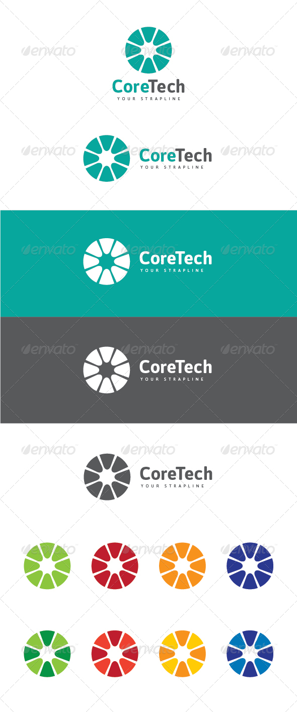 Core Tech Logo - Symbols Logo Templates