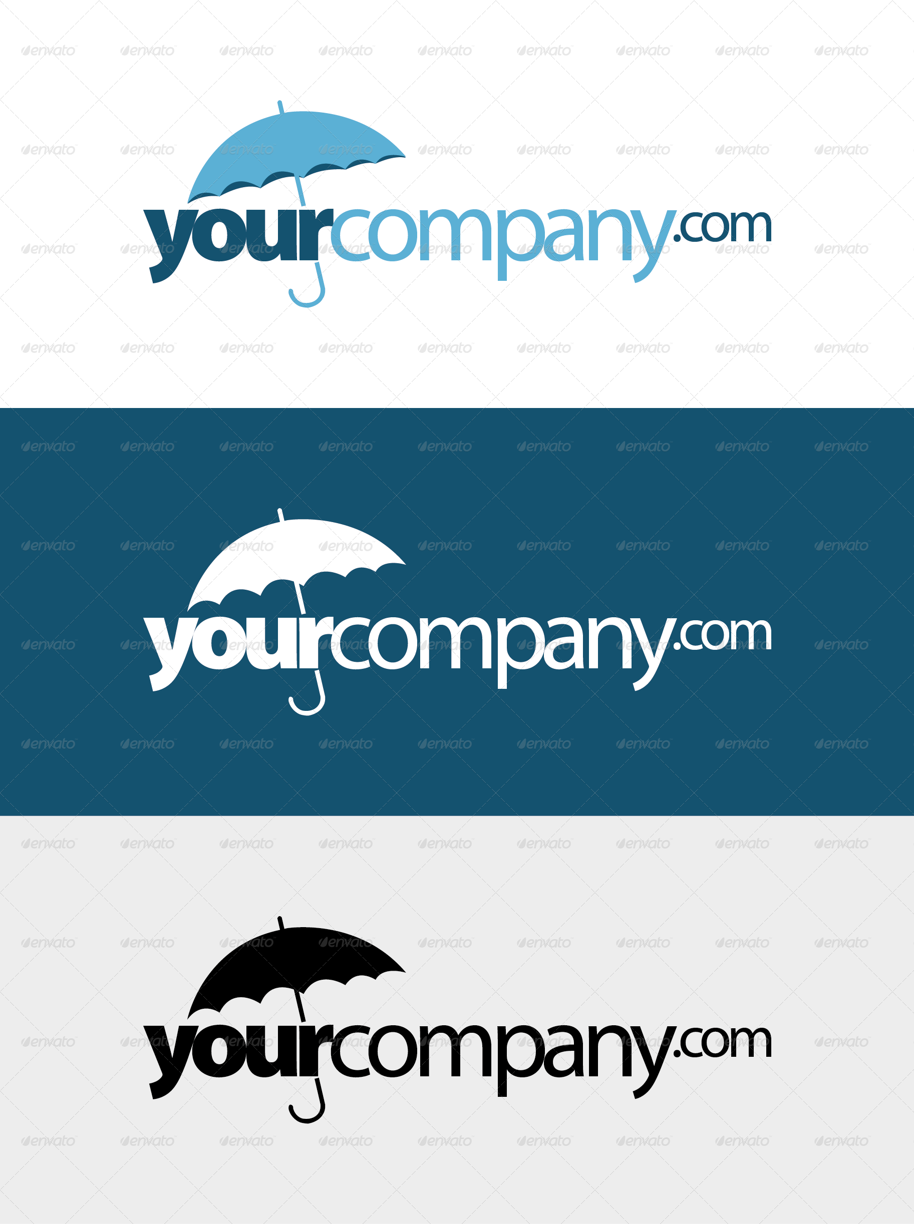 insurance company logo by kaiku82