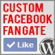 Custom Facebook Fan Gate Plugin for Wordpress - CodeCanyon Item for Sale