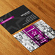 Model Agency Business Card AN0210 - GraphicRiver Item for Sale