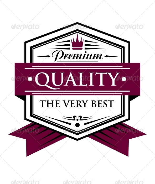 Premium Quality Label - Web Elements Vectors
