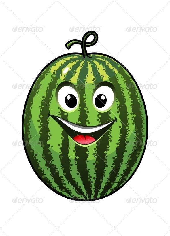 Goofy Watermelon  - Food Objects