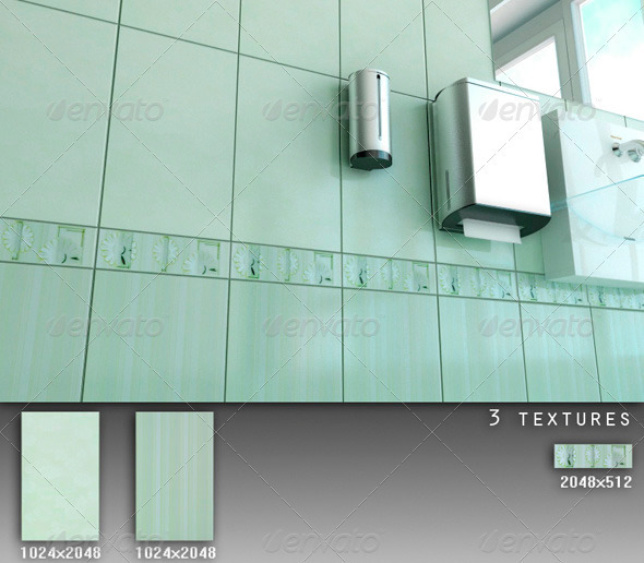 Professional Ceramic Tile Collection C079 - 3DOcean Item for Sale