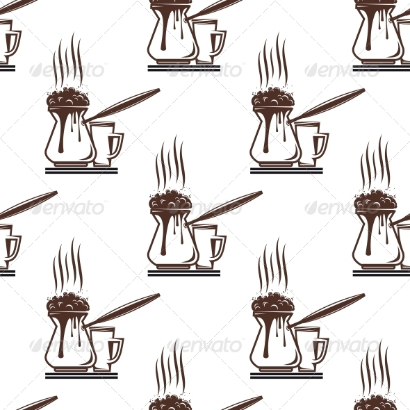 Coffee Seamless Pattern - Patterns Decorative