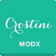 Crostini - Responsive One-Page MODX Theme - ThemeForest Item for Sale