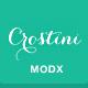 Crostini - Responsive One-Page MODX Theme - ThemeForest Item for Sale