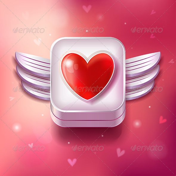 Heart Valentines Day Icon  - Seasonal Icons