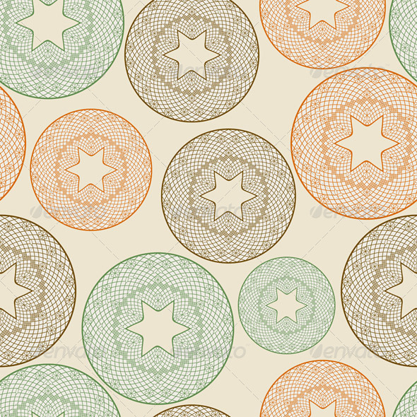 Seamless Star Pattern - Patterns Decorative
