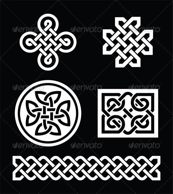 Celtic Knots - Patterns Decorative