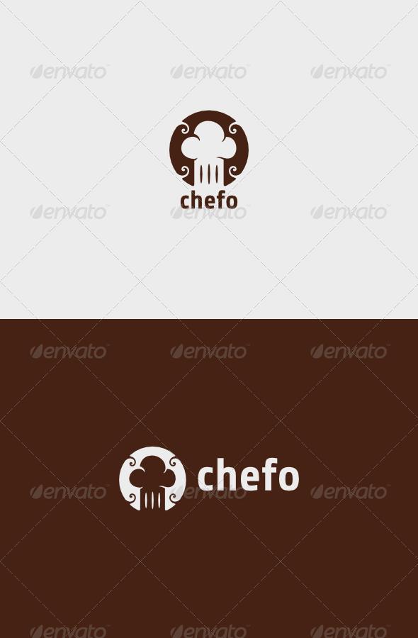 Chef Cook ing Logo - Food Logo Templates