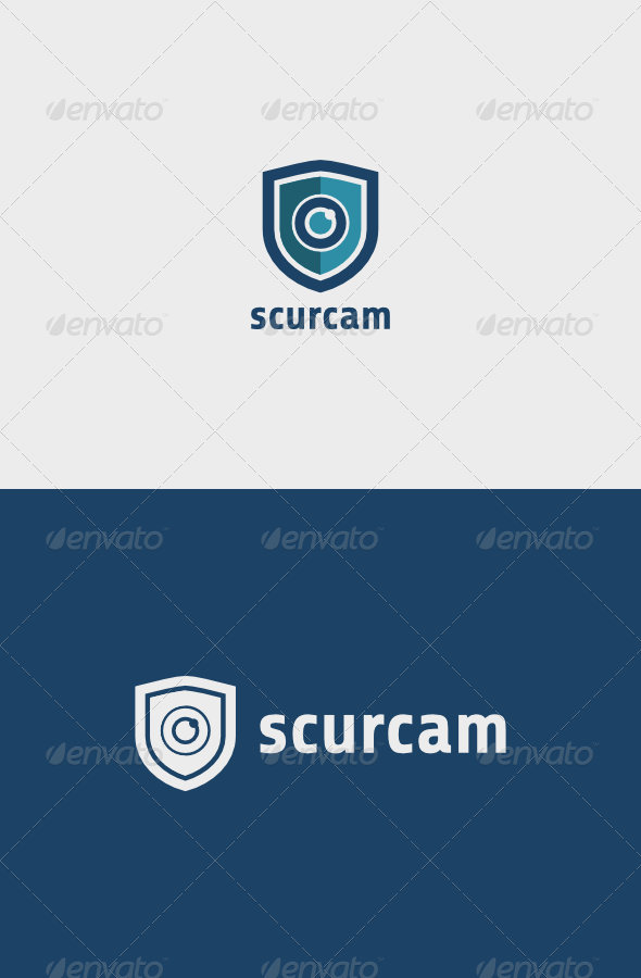 Security Camera Logo - Objects Logo Templates