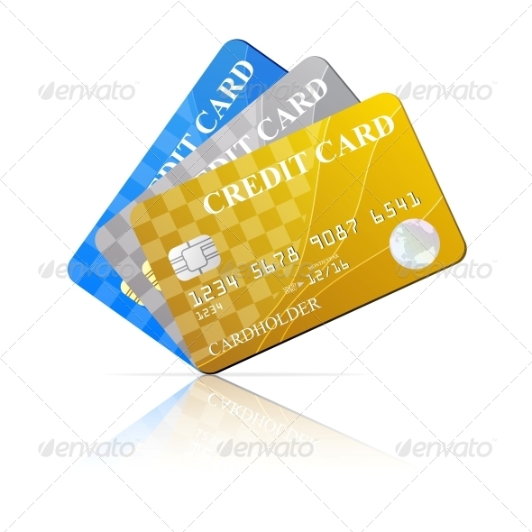 Credit Cards Set - Concepts Business