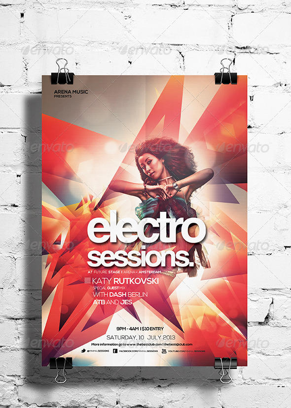 Electro Sessions Vol. 02 - Clubs & Parties Events