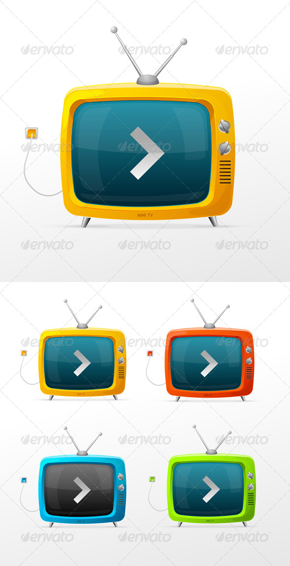 TV Collection - Retro Technology
