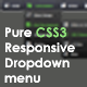 Pure CSS3 Responsive Drop down Menu - CodeCanyon Item for Sale