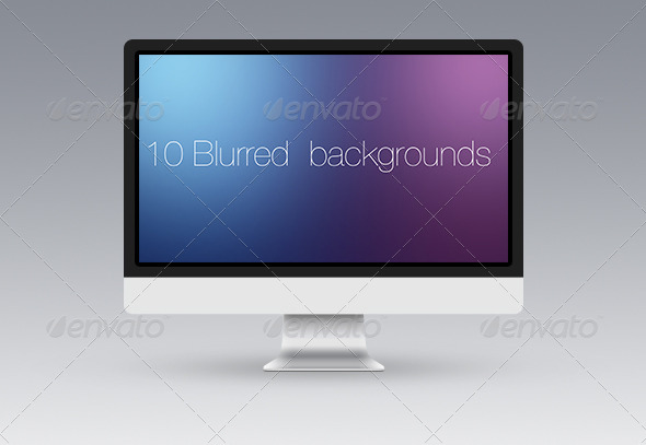 10 Blurred Backgrounds - Abstract Backgrounds