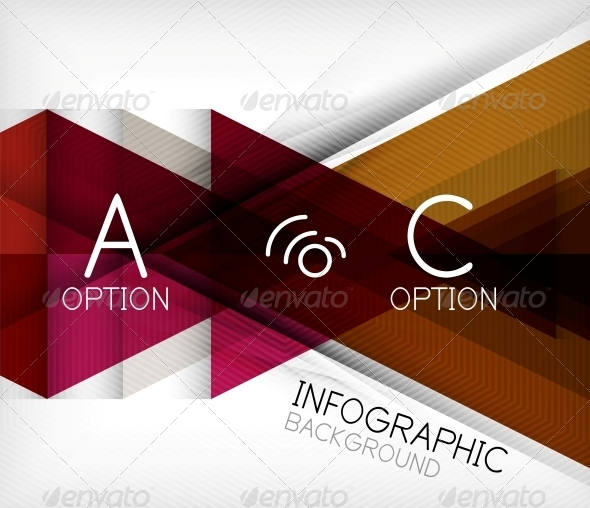 Infographic Abstract Background - Abstract Conceptual