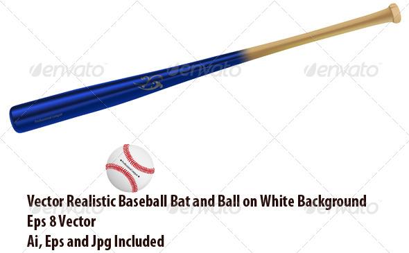Baseball Equipment - Sports/Activity Conceptual