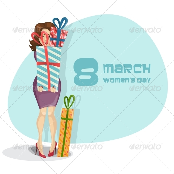 Happy Women's Day March 8th - Miscellaneous Seasons/Holidays