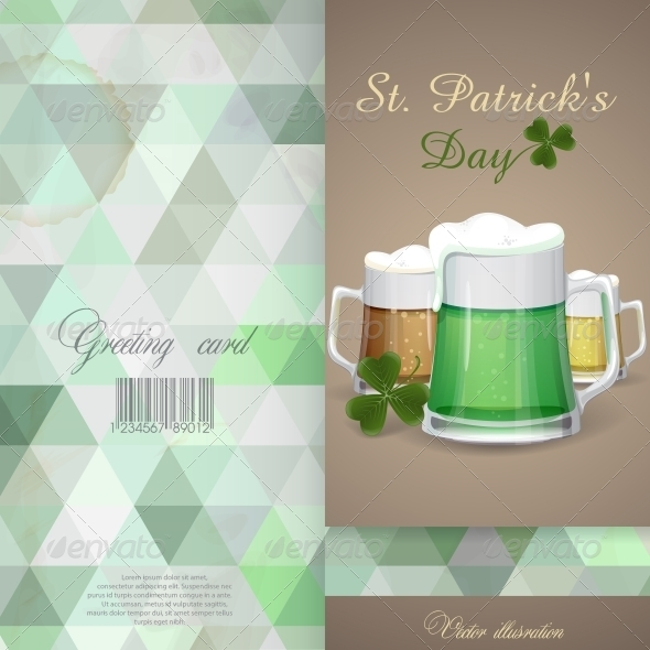 Mug Of Green Beer For St Patrick's Day. - Miscellaneous Seasons/Holidays