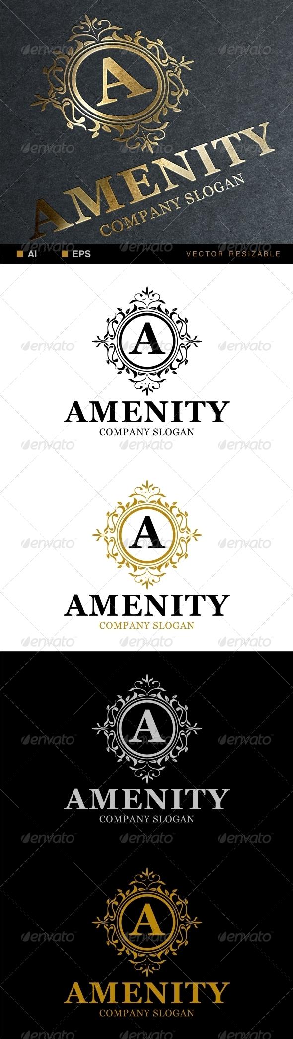 Amenity Logo  - Crests Logo Templates