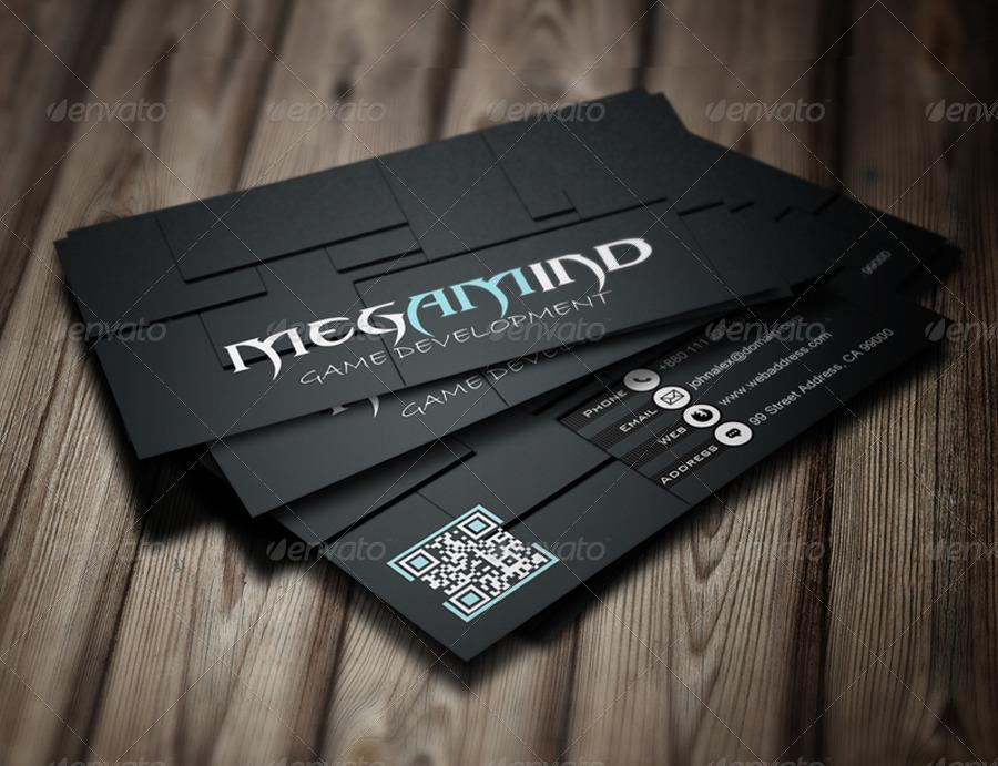 Megamind Creative Business Card Design by speaklog | GraphicRiver