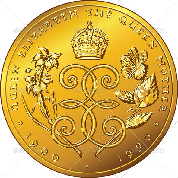 Gold Coin Dollar Bermuda - Animals Characters