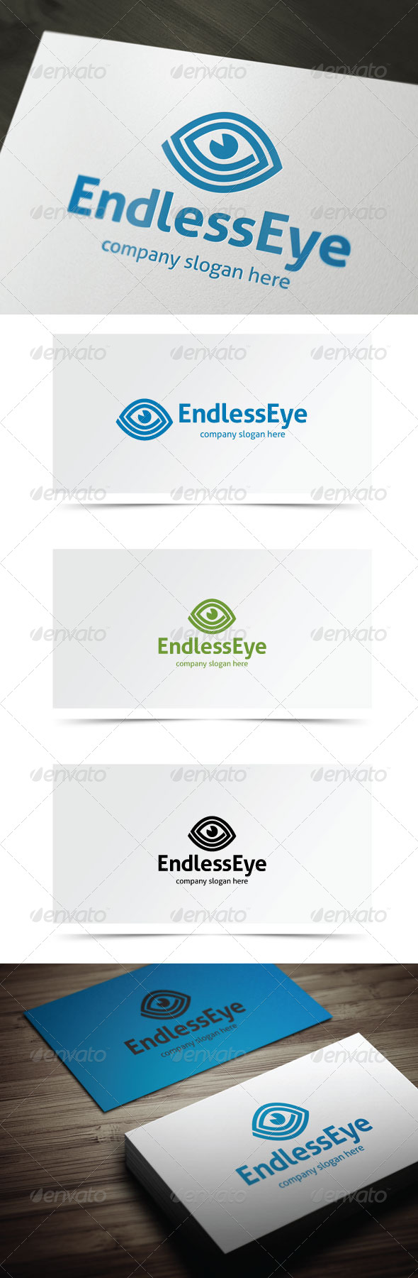 Endless Eye - Objects Logo Templates